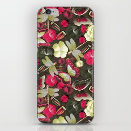 butterflies... dragonflies... and ladybugs! iPhone Skin