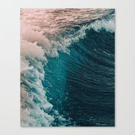 Spain Waves Canvas Print