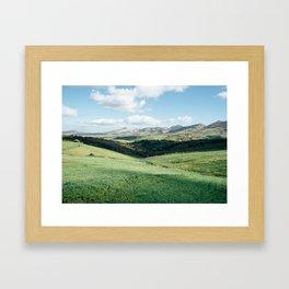 Tunisian Plateau Framed Art Print