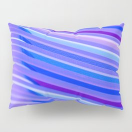 Purple Flow Pillow Sham