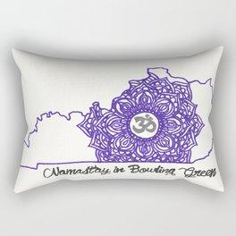 Namastay In Bowling Green Rectangular Pillow