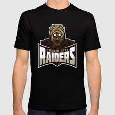 Tusken City Raiders - Tan Black Mens Fitted Tee X-LARGE