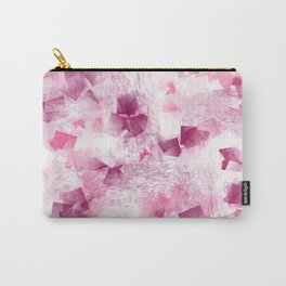 pink cubism Carry-All Pouch