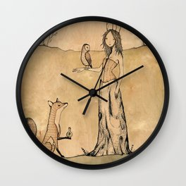 The Only Leaf Wall Clock