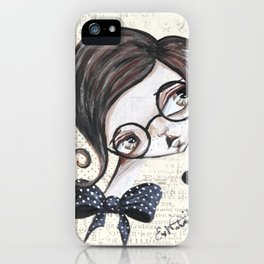 Geeky Chic iPhone Case