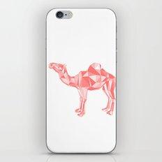Red mirage iPhone & iPod Skin