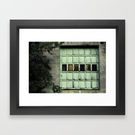 Warmth In Decay Framed Art Print