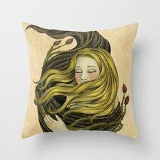 An Embrace Throw Pillow