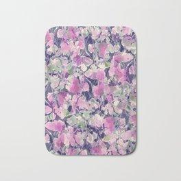 Pink Water Blossoms Bath Mat
