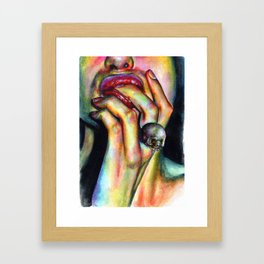 Your soul is yummy Framed Art Print