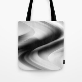 DREAM PATH (Black, Grays & White) Tote Bag