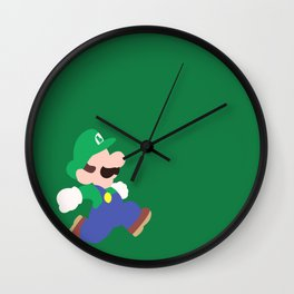 Mario Party (Luigi) Wall Clock