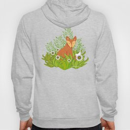 Fox in the Daisies Hoody