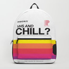 VHS and Chill Backpack