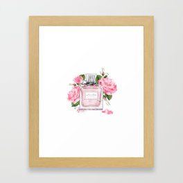 Miss pink Framed Art Print