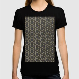 Golden Deco Golden Pattern T-shirt