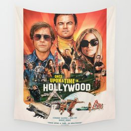 Once Upon a Time in Hollywood Wall Tapestry