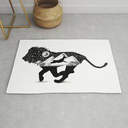 THE LION AND THE GAZELLE Rug