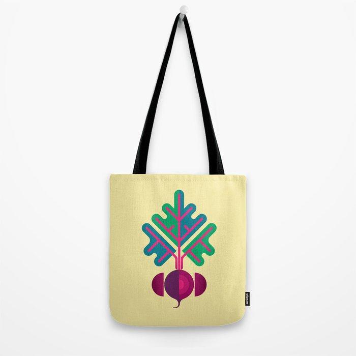 Vegetable: Beetroot Tote Bag