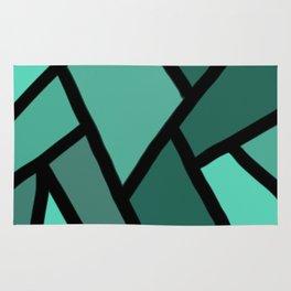 Line stitch Rug