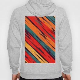 African Rustic Style, Purple stripes rustic seamless pattern Hoody