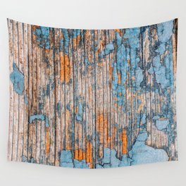 Wood Texture 1E Wall Tapestry