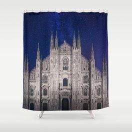 Under the starlit sky Shower Curtain