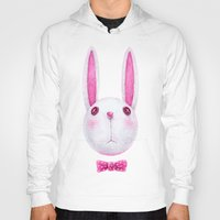 rabbit Hoodies featuring Rabbit by Lime