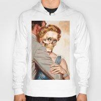 ginger Hoodies featuring GINGER by Julia Lillard Art