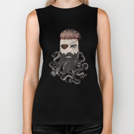 Black Beard Biker Tank