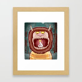 Wild Things. Framed Art Print