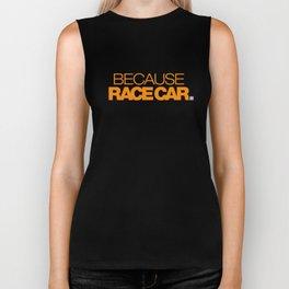 BECAUSE RACE CAR v3 HQvector Biker Tank