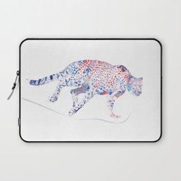 Digital Painting of  running cheetah Laptop Sleeve