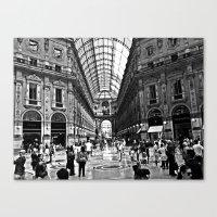 milan Canvas Prints featuring Milan by Gianluca Testa