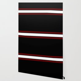 Team Colors...Maroon and white stripeswith black Wallpaper