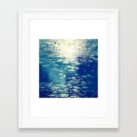 sparkles Framed Art Prints featuring Sparkles by Diana Cretu