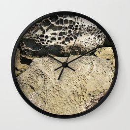 Stone Lace Stack Boulder Rock Sandstone Limestone Geology Geologist Washington Northwest Wall Clock