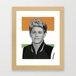 Niall Horan Framed Art Print