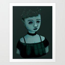 Night Girl II Art Print