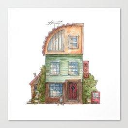 Garden Shop Canvas Print