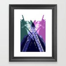 XX3 Framed Art Print