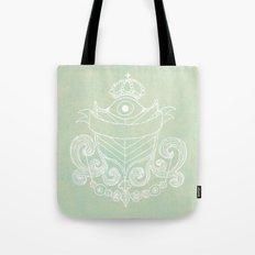 The Evil Eye Emblem  Tote Bag