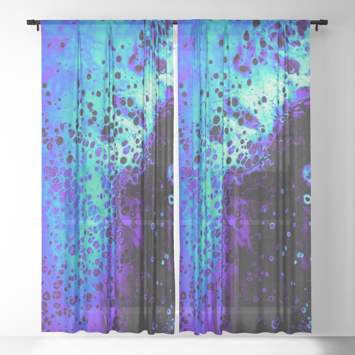 WALK ON WATER Sheer Curtain