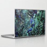 siren Laptop & iPad Skins featuring Siren by Nemeth Alina