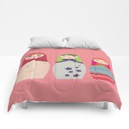 Russians Dolls whoops !  Comforters