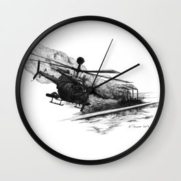Kiowa Wall Clock