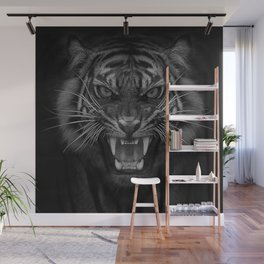 Heart of a Tiger Wall Mural
