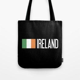 Ireland: Irish Flag & Ireland Tote Bag