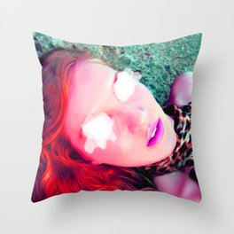 Another Red Head  Throw Pillow