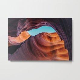 Lower Antelope Canyon Photograph I Metal Print